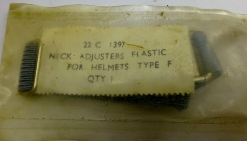 RAF Neck Adjuster Elastic For Helmet Type F 22C/1397