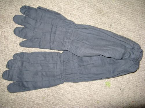 UNUSUAL WW2 RAF AIR MINISTRY MARKED GLOVES 1941 ASR?
