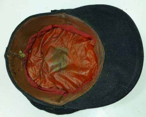 Nice private purchase National Fire Service peaked cap