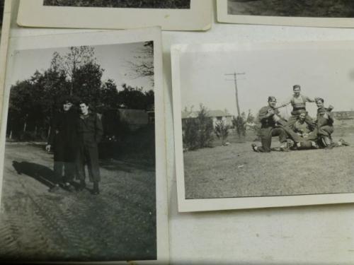 A set of 9 Original WW2 Era Canadian Military Photos