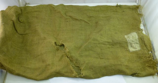 1946 Dated Hessian Sack Bags Officers Camp Kit MKII