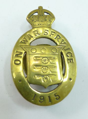 WW1 British on War Service Lapel Badge