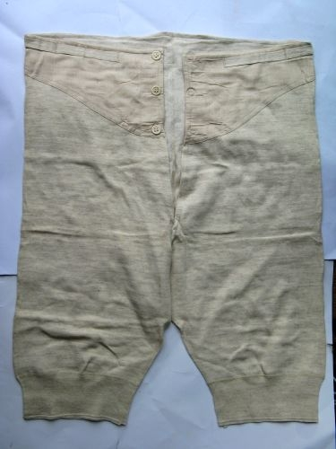 WW2 British Army Long Woollen Underpants dated 1941