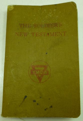 1942 Dated YMCA The Soldiers New Testament