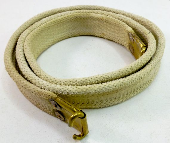 Early British Army Rifle Sling Marked MW&S 1935