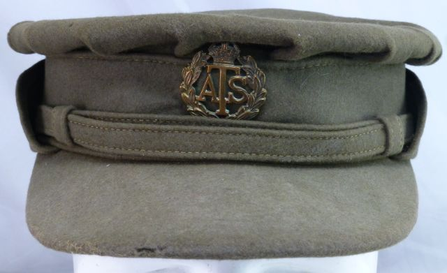 WW2 ATS Officers High Quality Peaked Cap
