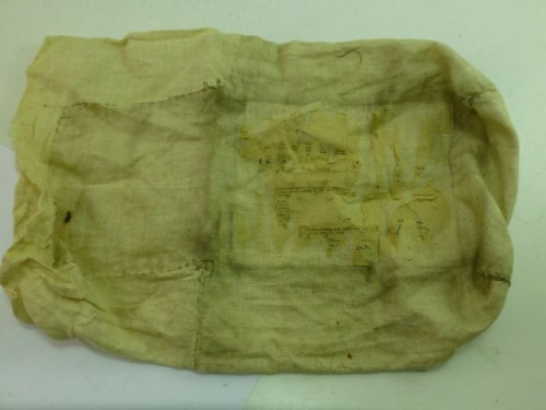 WW2 Linen Mail Bag Duty Free Soldiers Gift