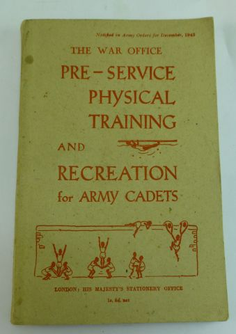 1943 Pre Service PT & Recreation For Cadets