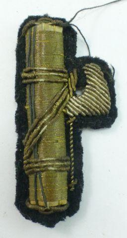 39 Original WW2 Italian Fascist Bullion Cap Badge