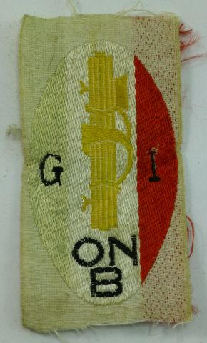 46 Original WW2 Italian ONB Fascist Youth Group Badge