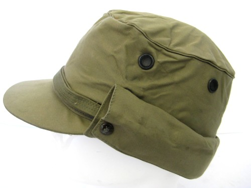 Un-issued 1950 Pattern Jungle Green Peaked Cap as used in Malaya