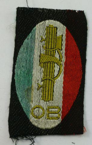 47 Original WW2 Italian Fascist Youth Group Badge OB