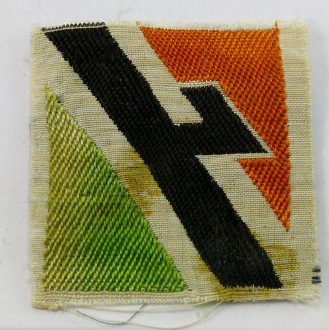 48 Original WW2 Italian Youth Cloth Breast Badge