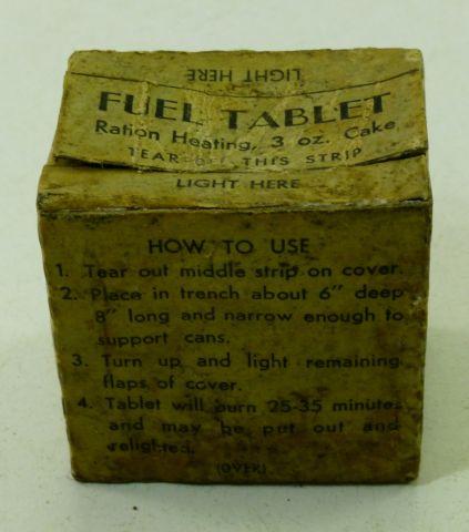 Original WW2 US Army Ration Heating Cake Hot Box