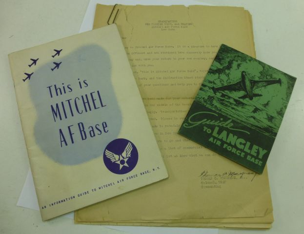 1948 US Air Force Guides To Langley & Mitchel Air Bases