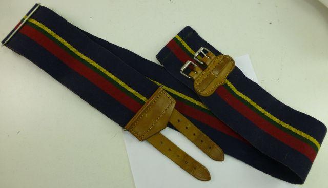 Vintage Royal Marines Stable Belt in Excellent Order