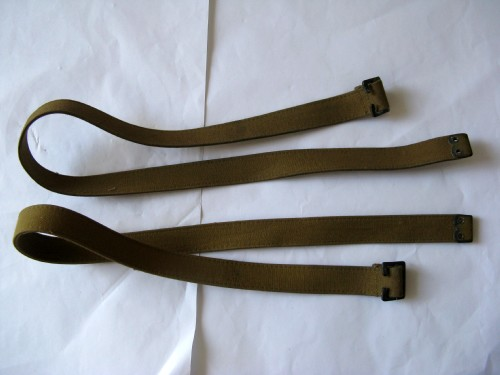 WW2 British Army & Home Guard Rubberised Economy Utility Straps