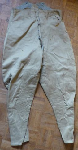 5 WW2 Indian Made Khaki Breeches 1942