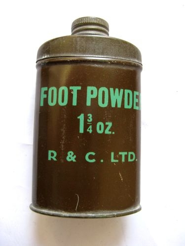 Mid WW2 British Army Issue Foot Powder