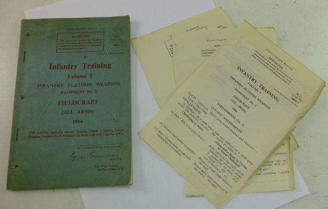 Infantry Training  Pamphlet Vol I Pamphlet 2 Fieldcraft