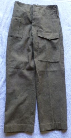 12 WW2 British Army Officers Battledress Trousers