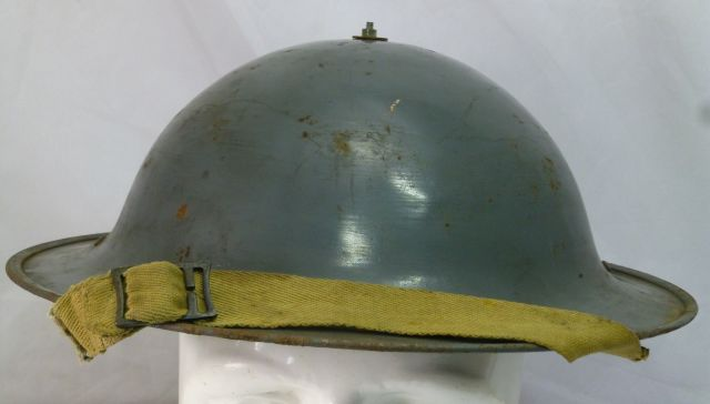 Unusual WW2 Home Front Private Purchase Steel Helmet