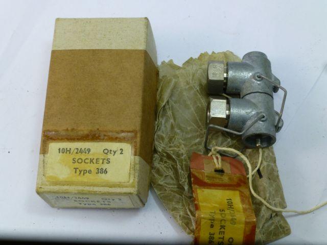 WW2 era RAF Type 386 Sockets 10H/2449