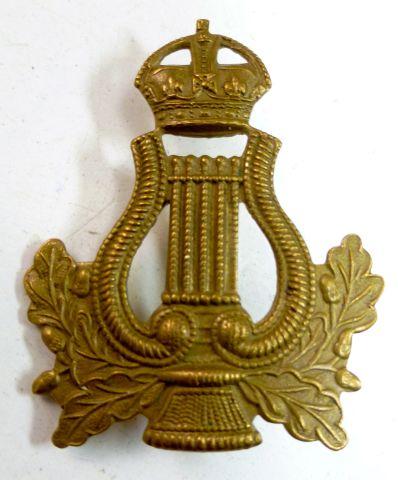 Original WW2 British Army Bandsman's Cap Badge