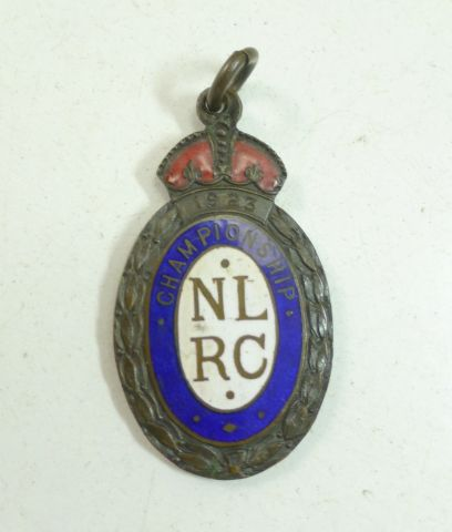North London Rifle Club Championship 1923 medallion