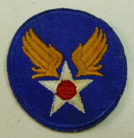 25 Original WW2 US Army Air Force Oval Cloth Badge