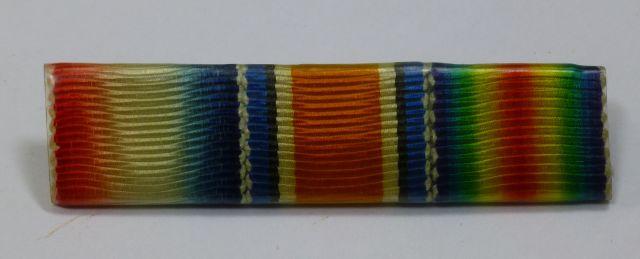WW1 British Army Pin On Medal Ribbon Bar Trio