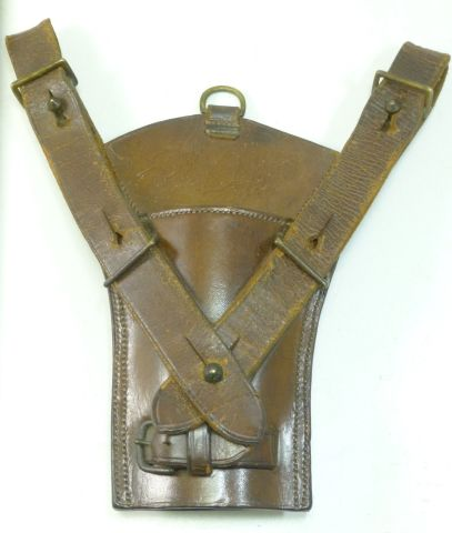 Lovely Heavy Duty Victorian Officers Leather Sword Frog