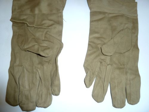 WW2 Indian Made British Army Anti-Mosquito Gloves