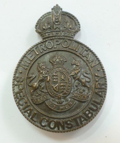 Metropolitan Police Special Constable Badge