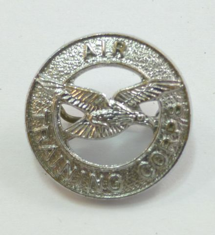 Small WW2 Era Air Training Corps Pin Badge