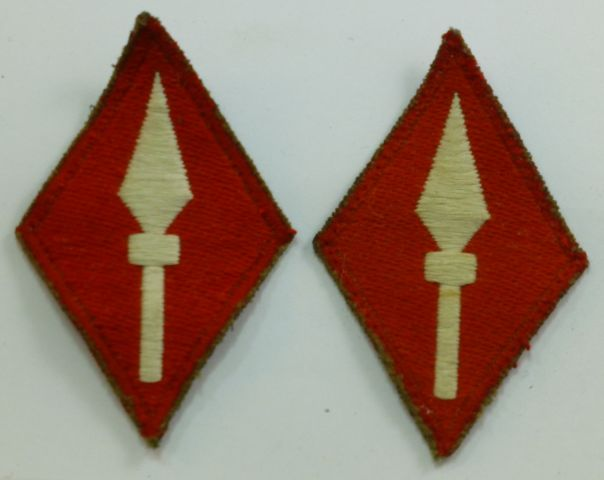 Post WW2 British Army 1st Army Corps Insignia