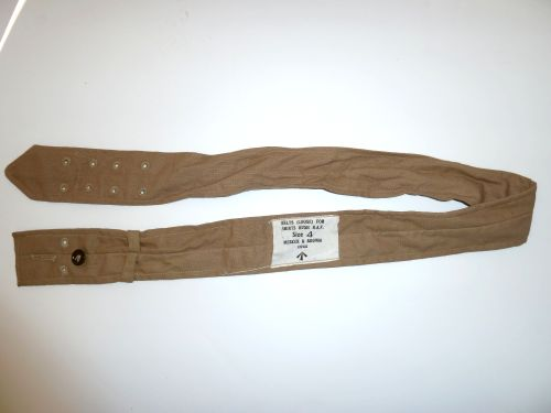 Mint Original WW2 RAF Aertex Bush Shirt Waist Belt
