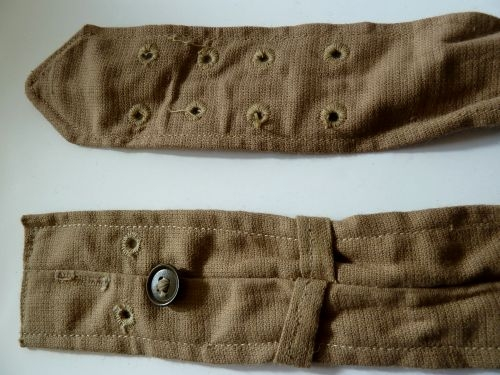 Mint Original WW2 RAF Aertex Bush Shirt Waist Belt