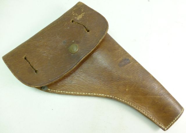 1939 Pattern Home Guard Leather Pistol Holster