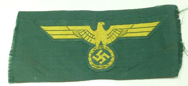 Original WW2 Kriegsmarine Tropical Breast Eagle