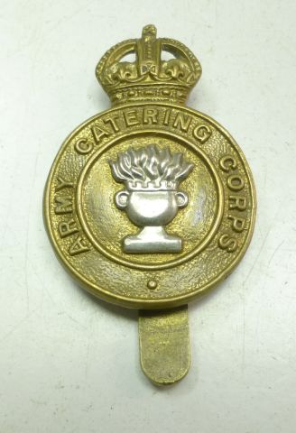 5 Original WW1 WW2 Army Catering Corps Cap Badge