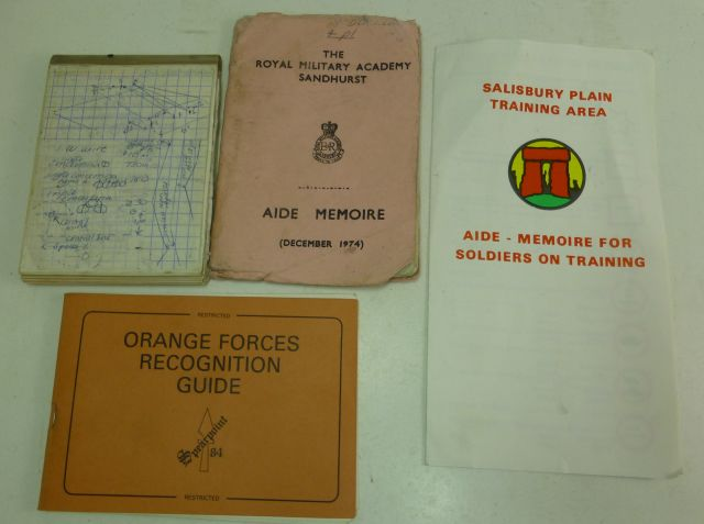 4 Post War British Army Pamphlets etc 1970s-80s
