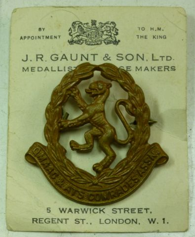WW2 QMAAC & ATS Comrades Association Badge