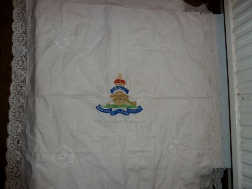 WW1 WW2 Royal Artillery Table Cloth Coffee Table Cloth