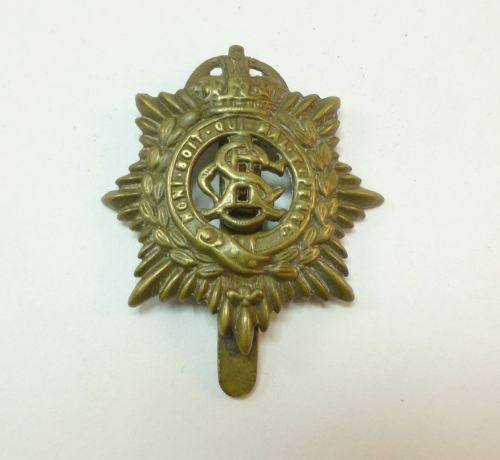 17 Nice WW1 Army Service Corps Cap Badge