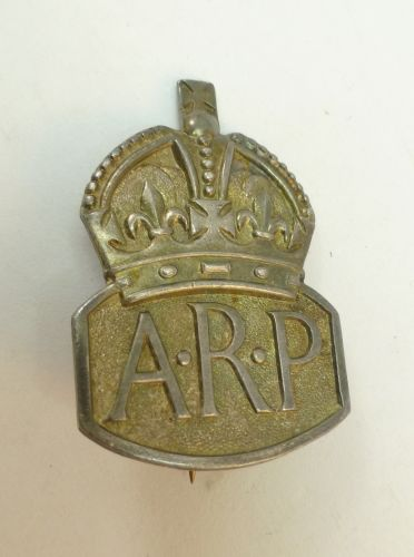 30 WW2 British ARP Woman's Pin Back Badge