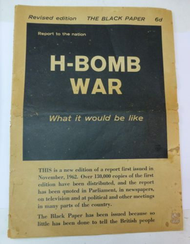 Revised Edition of The Black Paper on the H-Bomb