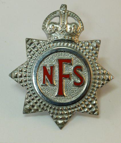 Original WW2 NFS Cap Badge
