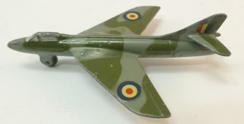 1950s Dinky Toys Hawker Hunter 736