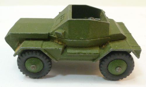 Original 1950s Dinky Toys Scout Car 673